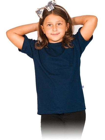 Kit 20 Camisetas Infantil Lisa Básica Algodão Blusa Unissex