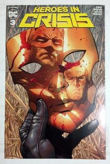 Heroes In Crisis #3 Español Smash México