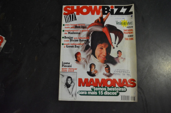 Show Bizz 125 Mamonas Assassinas Revista