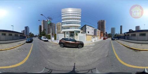 Apartamento À Venda, 55 M² Por R$ 190.000,00 - Tupi - Praia Grande/sp - Ap4354