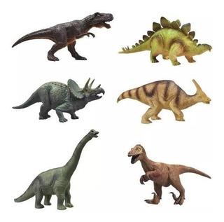 Dinosaurio Plastico Goma 24cm Funny Land Cresko