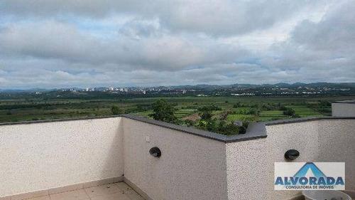 Cobertura Com 3 Dormitórios À Venda, 172 M² Por R$ 520.000,00 - Jardim Das Indústrias - São José Dos Campos/sp - Co0106