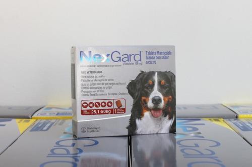 Pastillas Antipulgas Y Antigarrapatas Nexgard 25-50 Kg
