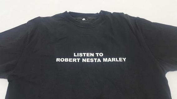 Remera Escuche Bob Marley