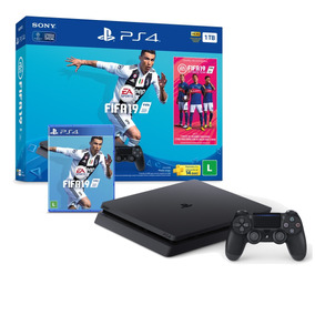 Console Playstation 4 Slim 1tb Bundle Fifa 19 Cuh-2214b