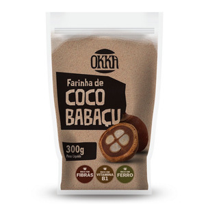 Farinha De Coco Babaçu Okka 300g