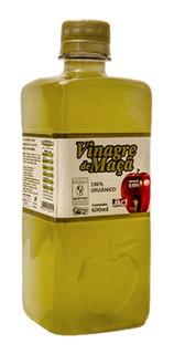 Vinagre De Maçã - Organico - 600 Ml -pronto Para Beber