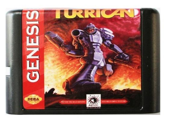 Mega Turrican Sega Mega Drive Genesis + Brinde!!