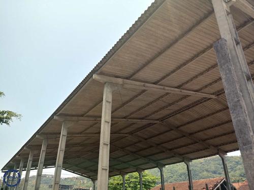 Galpão No Saboó Em Santos - V9523