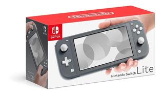 Consola Nintendo Switch Lite Gris 32gb + Envio Gratis