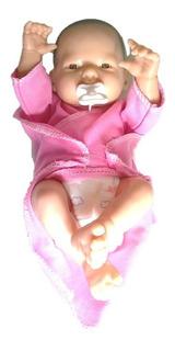 Bebe Reborn Real Recién Nacido Mini Pañal Real 105a