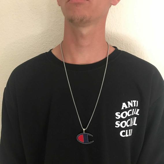 Cordão Colar Hype Trap Hip Hop Rap Pronta Entrega