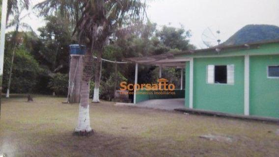Chácara Com 2 Dormitórios À Venda, 1.750 M² Por R$ 150.000 - Ch0356
