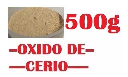 Oxido De Cerio Pulir Cristal Templado, Parabrisas, X 500g