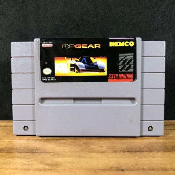 Top Gear Original Americano P/ Snes!!