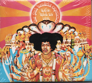 Cd + Dvd The Jime Hendrix Experience - Axis Bold As Love