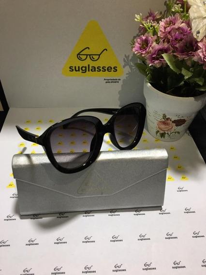 Óculos De Sol Suglasses Classic Todo Preto