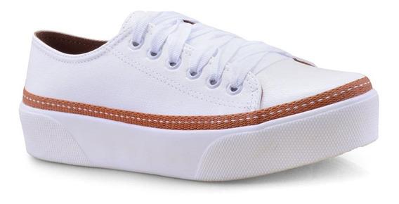 Tênis Feminino Redsun Napa Branco 211410