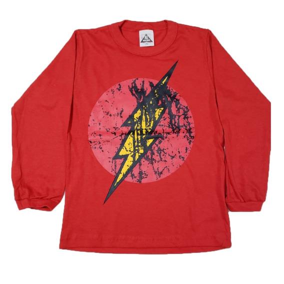 Kit 9 Camisas Blusas Menino Infantil Heróis Tv Atacado