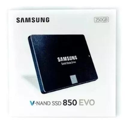 Ssd Samsung Evo 850 250gb 500mb/s Lacrado
