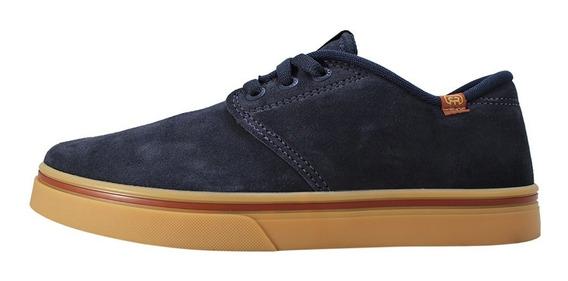 Tênis Hocks Skate Unissex Azul Marinho Original Promoção