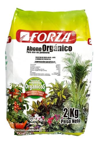 Abono Orgánico Para Plantas Natural Cultivo Jardín 2kg