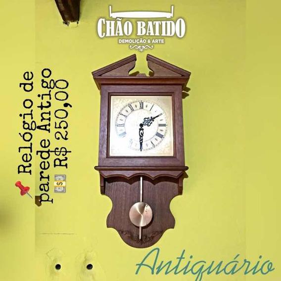 Relógio De Parede - Antigo