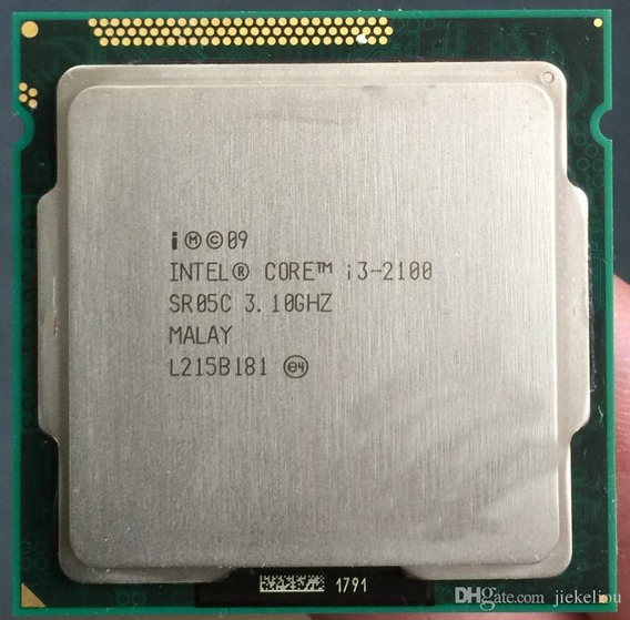 Processador Intel Core I3 2100 3.10 1155 2º Geração