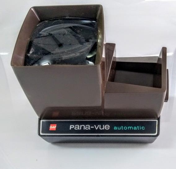 Visor De Slide Gaf Pana Vue Automatic Na Caixa A Pilha