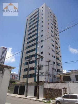 Apartamento Com 3 Dormitórios Para Alugar, 95 M² Por R$ 1.350/mês - Boa Viagem - Recife/pe - Ap1112