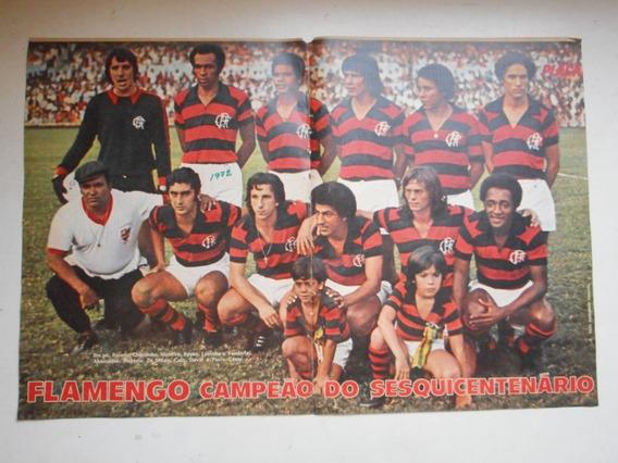 Pôster Placar - Flamengo Campeão Sesquicentenário