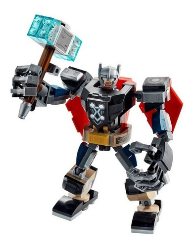 Imagem 1 de 6 de Lego Super Heroes Marvel - Armadura Robô Do Thor