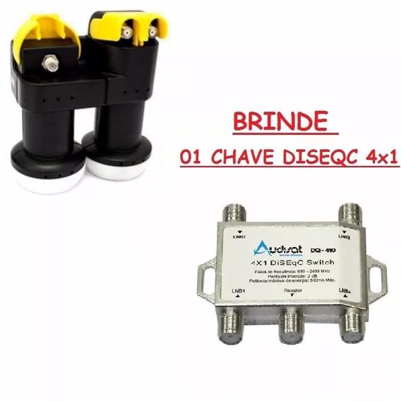 Kit Com 03 Lnb Carona 2+1 ( Brinde 3 Chave Diseq 4x1) - 2x1
