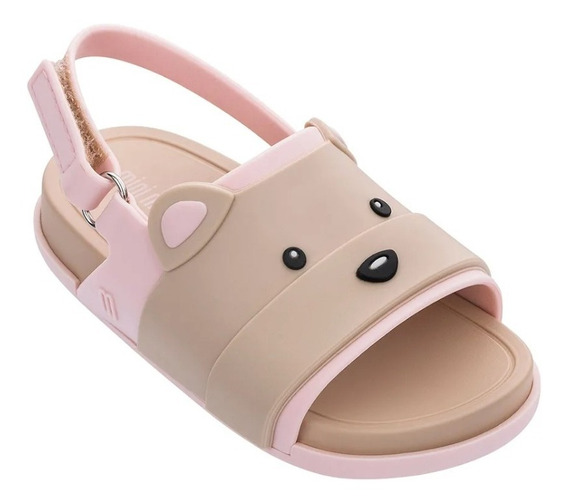 Mini Melissa Beach Slide Sandal Bear Original