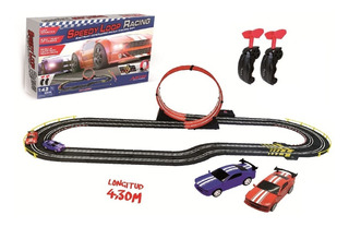 Pista Eléctrica Artin Speedy Loop 157 X 68 Cm 803004 - Luico