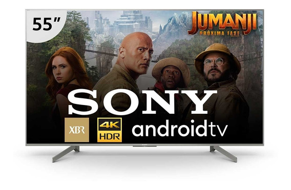 Smart Tv Sony 4k Led 55 Chromecast E Wi-fi - Xbr-55x855g
