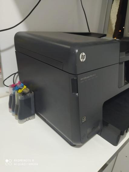 Impressora Hp 8610 Pro Bulk Ink. Excelente Estado.