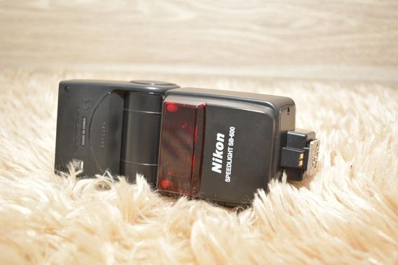 Flash Nikon Sb600 Pouquíssmo Uso