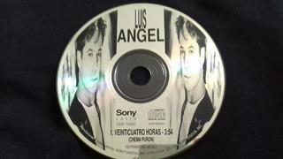 Cd Single Promocional Luis Angel Veinticuatro Horas