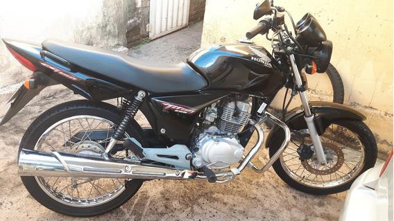 Honda Cg 150 Esd Completa Documentada 2° Dono
