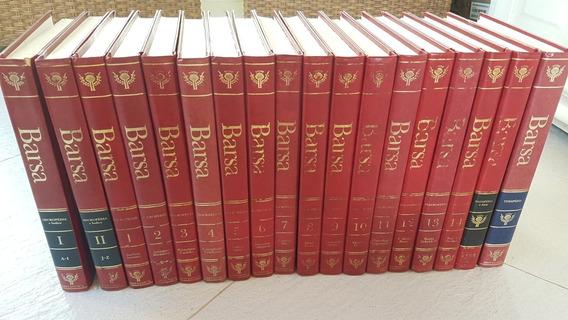 Enciclopédia Barsa 14vol + Datapédia + Temapédia + Vol 1 E 2