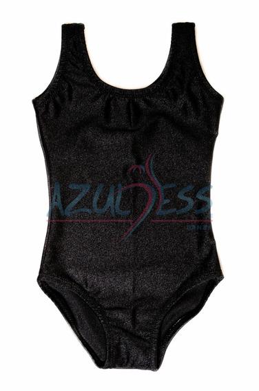 Leotardo Camiseta Para Niña Talla 12 By Azuless Danza