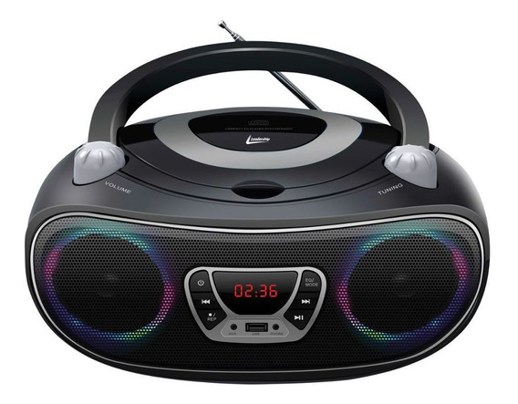 Caixa De Som Colors Boombox Leadership Bluetooth Usb/sd/aux