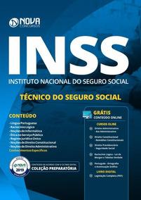 Apostila Preparatória Inss 2019 - Técnico Do Seguro Social
