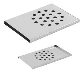 Kit 2 Ralos Inteligente Para Box De Banheiro Pratic Em Inox