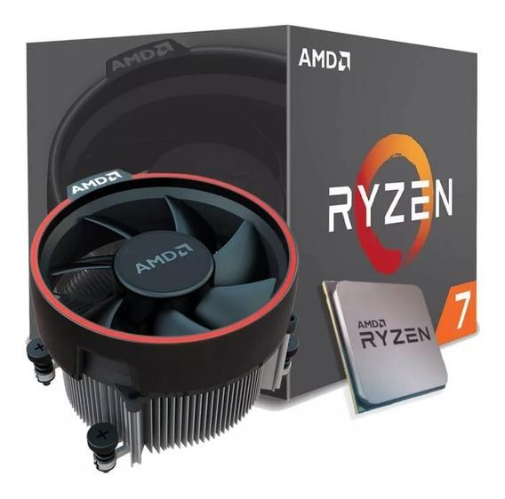 Processador Amd Ryzen 7 1700 3.7ghz/20mb/3.0ghz Am4