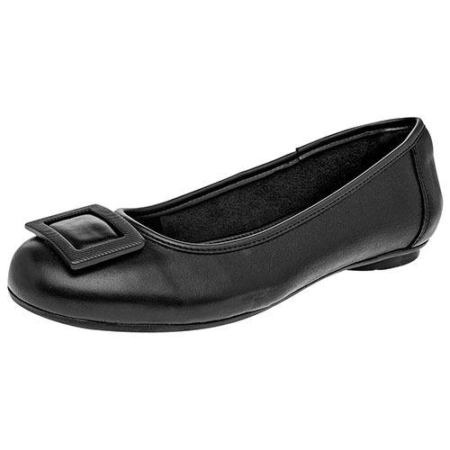 df117909 Dtt Zapatos Fiesta Ballerinas Flexi Niñas Piel Negro U43538 - $ 1,015.00 en  Mercado Libre