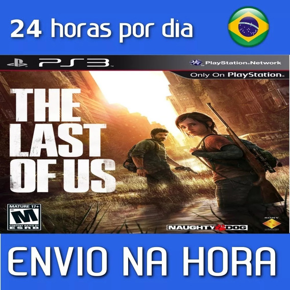 The Last Of Us Português Ps3 Psn Envio Imediato