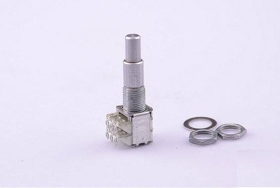 Potenciometro Alpha Concentrico Duplo B500kx2 Center Click
