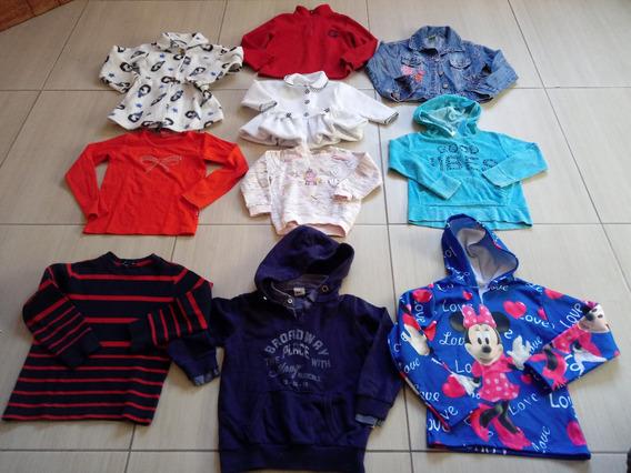 Lote 10 Peças Blusa De Frio Inverno Meninos E Meninas Usadas